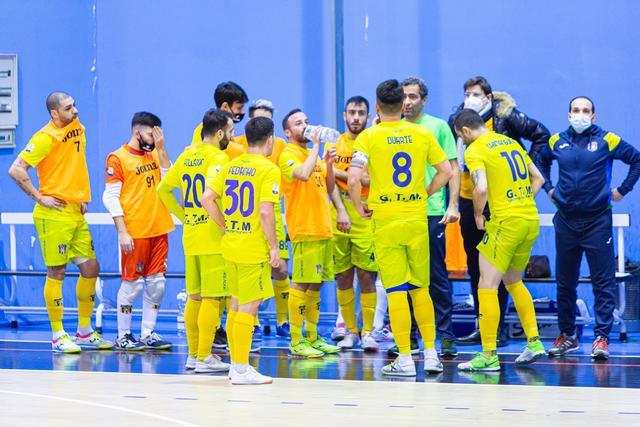 La squadra gialloblu, FOTO: REAL SAN GIUSEPPE C5 FACEBOOK