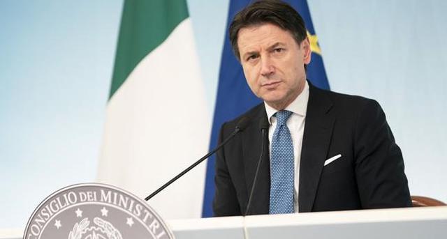 Il premier Giuseppe Conte, FOTO: GOVERNO.IT