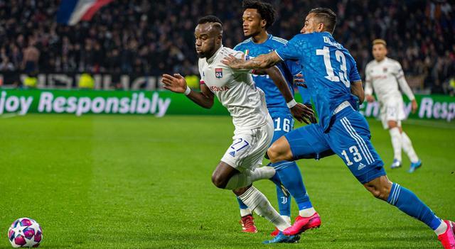 Una fase di Lione-Juventus, FOTO: UEFA.COM