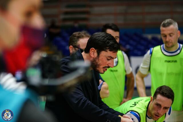 Il tecnico Lorenzo Nitti, FOTO: FELDI EBOLI C5 FACEBOOK