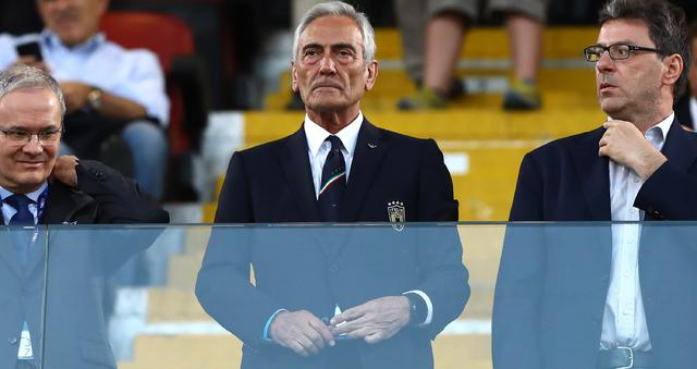 Il presidente Gabriele Gravina, FOTO: FIGC.IT