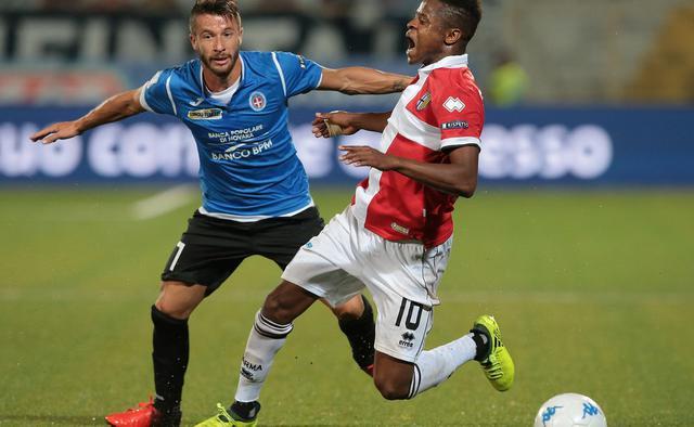 L'attaccante Gianluca Sansone, FOTO: FONTE WEB