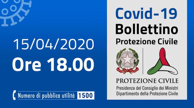Il bollettino, FOTO: FONTE WEB