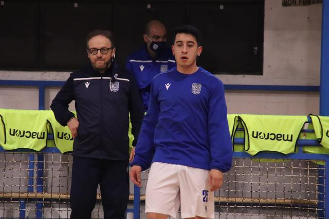 Il laterale William Rocha, FOTO: CMBFUTSALTEAM.IT-SAVINO