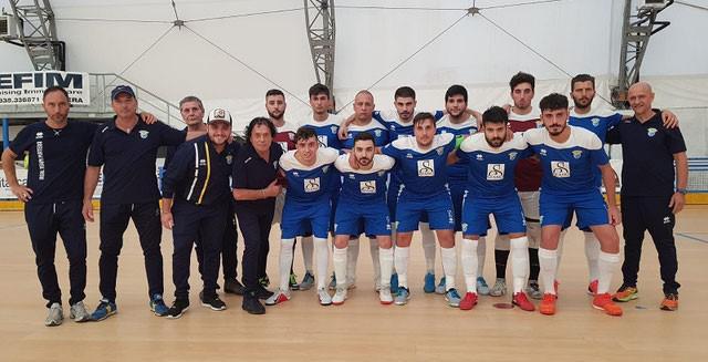 La squadra del Real Team Matera, FOTO: REALTEAMMATERAC5.COM