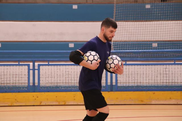 Il portiere Salvatore Strippoli, FOTO: CMBFUTSALTEAM.IT