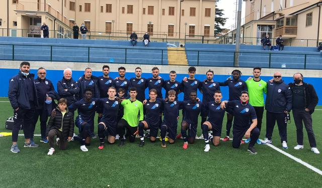 La squadra biancoazzurra, FOTO: FONTE WEB