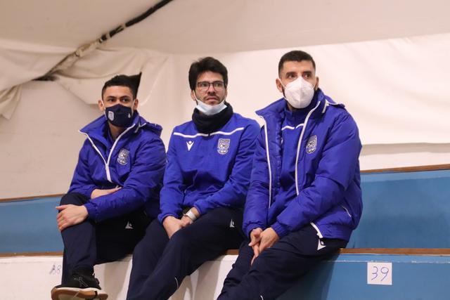 Well, Ramon e Isi in tribuna, FOTO: CMBFUTSALTEAM.IT-SAVINO