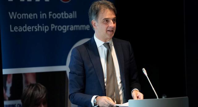 Michele Uva della Uefa, FOTO: FONTE WEB