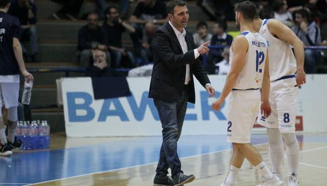 Il coach Agostino Origlio, FOTO: ROBERTO LINZALONE-OLIMPIAMATERA.IT