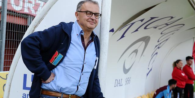 Il patron Riccardo Curci del Rieti, FOTO: FONTE WEB