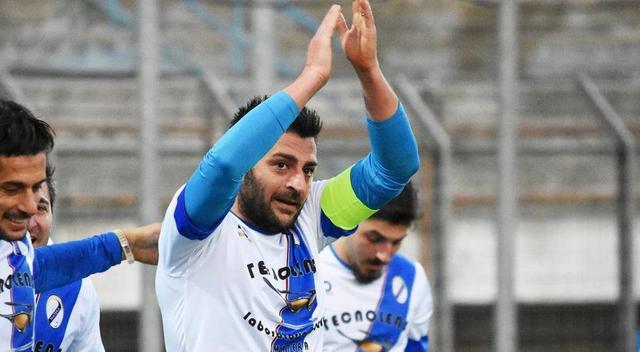 Il capitano Aberto Marsico, FOTO: SANDRO VEGLIA