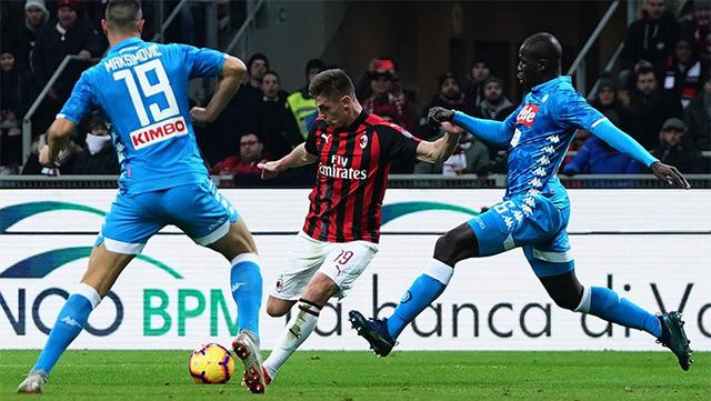 Milan-Napoli, FOTO: ACMILAN.COM