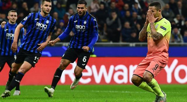 Una fase di Atalanta-Manchester City, FOTO: UEFA.COM