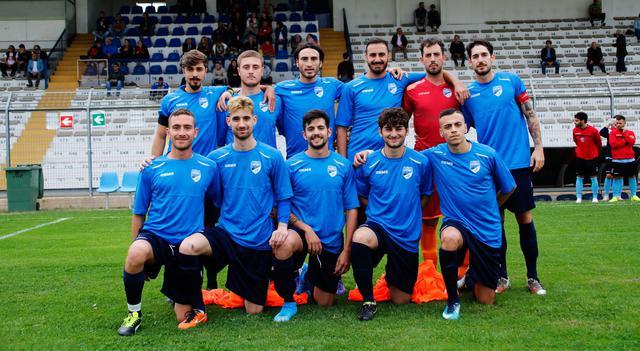 La squadra del Città dei Sassi, FOTO: CARLO MAGNI-CALCIOMATERANO.IT