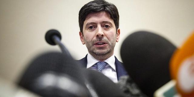 Il ministro della salute Roberto Speranza, FOTO: FONTE WEB