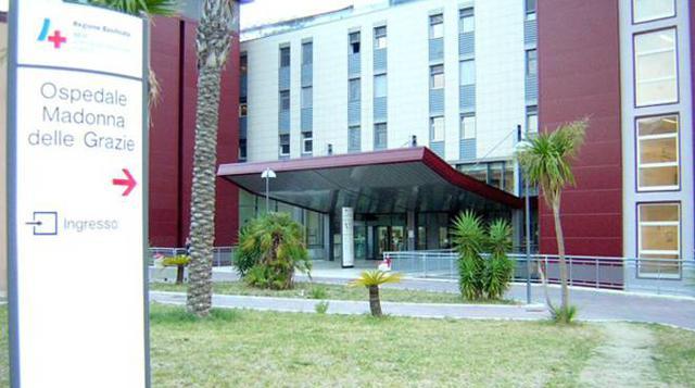 L'ospedale Madonna delle Grazie di Matera, FOTO: FONTE WEB