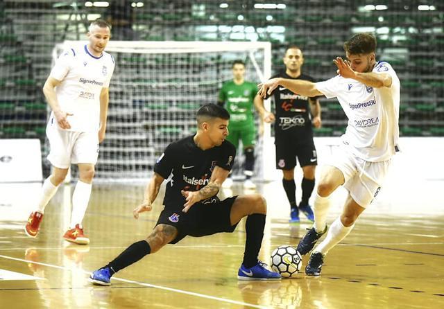 Una fase del match d'andata, FOTO: FONTE WEB