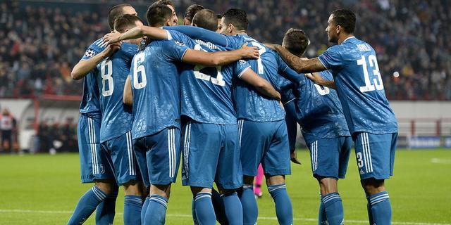 L'esultanza della Juventus, FOTO: JUVENTUS.COM