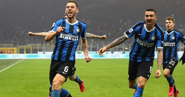 L'esultanza dell'Inter, FOTO: INTER.IT