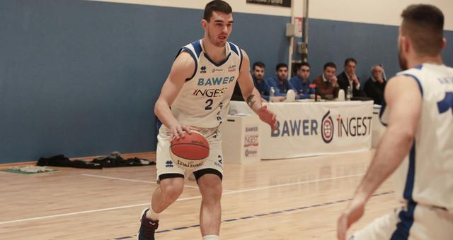 Il cestista Mario Mancini, FOTO: ROBERTO LINZALONE-OLIMPIAMATERA.IT