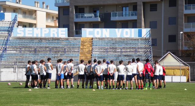 L'allenatore dei biancoazzurri, FOTO: TUTTOMATERA.COM