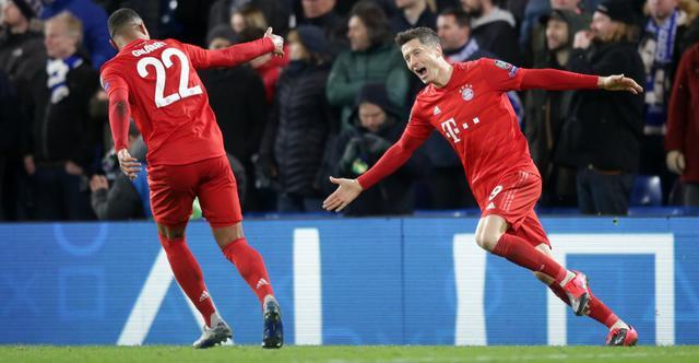 L'esultanza del Bayern Monaco, FOTO: UEFA.COM
