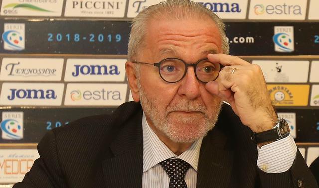 Il presidente Francesco Ghirelli, FOTO: FONTE WEB