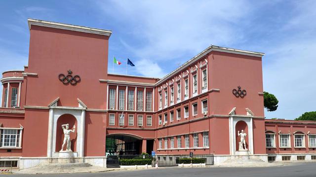 Il palazzo del Coni, FOTO: CONI.IT