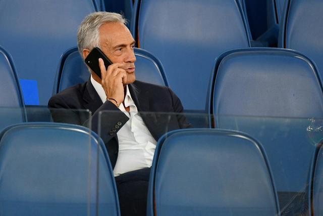 Il presidente Gabriele Gravina, FOTO: ZIMBIO.COM