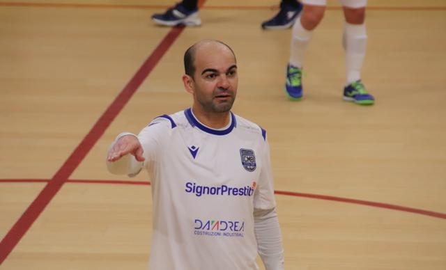L'attaccante Wilde, FOTO: CMBFUTSALTEAM.IT