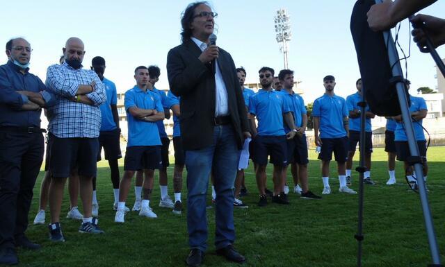 Il presidente Antonio Petraglia, FOTO: MATERASPORT24.IT