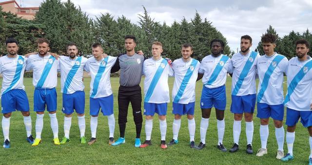 La squadra biancoazzurra, FOTO: ANNA RITA NOVELLINO