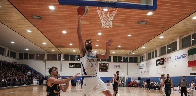 Il cestista Marcelo Dip, FOTO: ROBERTO LINZALONE-OLIMPIAMATERA.IT