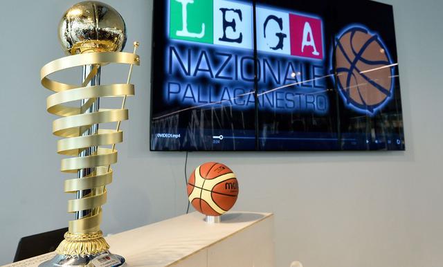 Il trofeo della Lnp, FOTO: FONTE WEB