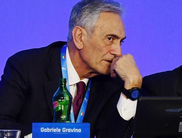 Gabriele Gravina della Figc, FOTO: FONTE WEB
