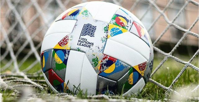 Il pallone della Nations League, FOTO: FONTE WEB