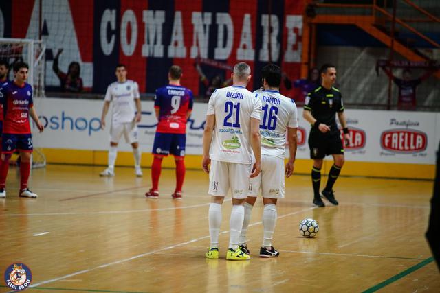 Una fase del match di ieri pomeriggio, FOTO: FELDI EBOLI C5