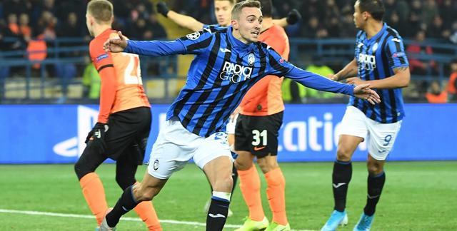 L'esultanza dei neroazzurri, FOTO: UEFA.COM