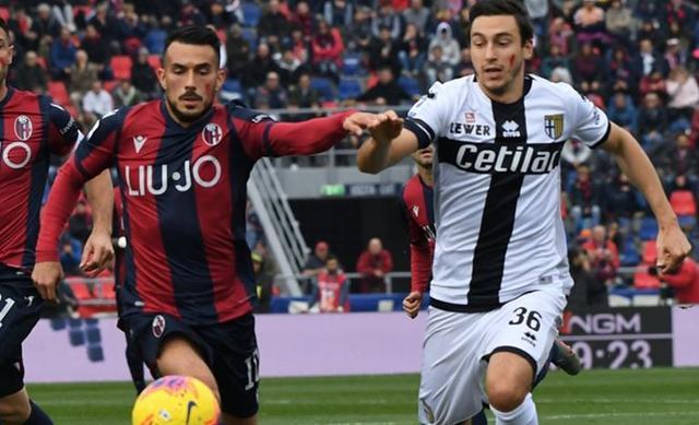 Una fase di Bologna-Parma, FOTO: FONTE WEB