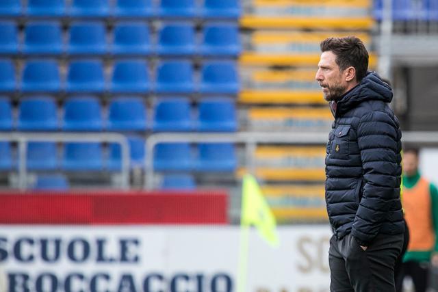 Il tecnico Eusebio Di Francesco, FOTO: CAGLIARI CALCIO FACEBOOK