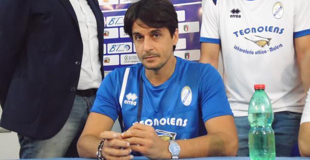 Il tecnico-giocatore Tonio Chisena dell'Usd Matera, FOTO: TUTTOMATERA.COM