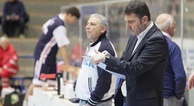 Il coach Agostino Origlio, FOTO: OLIMPIAMATERA.IT-ROBERTO LINZALONE