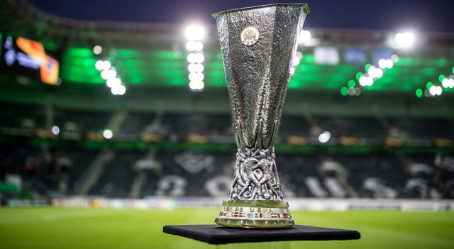 Il trofeo dell'Europa League, FOTO: FONTE WEB