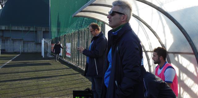 Il vice-allenatore Donato Ferrullo dell'Usd Matera, FOTO: TUTTOMATERA.COM