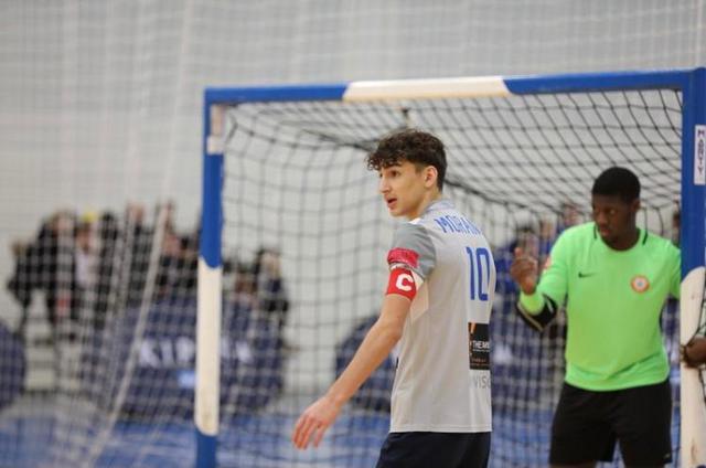 Il giovane giocatore Vincenzo Morando, FOTO: FONTE WEB
