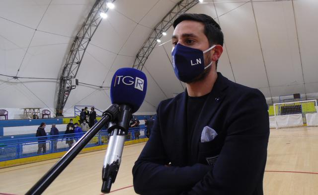 Il tecnico Lorenzo Nitti, FOTO: TUTTOMATERA.COM