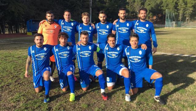 La squadra dei biancoazzurri, FOTO: FONTE WEB