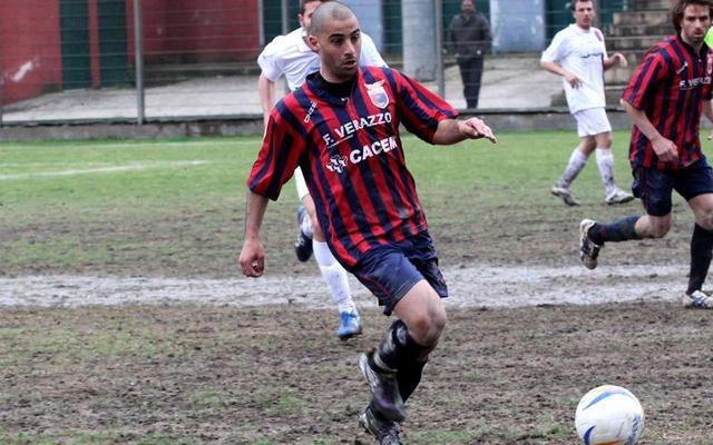 Antonio Dimatera in azione, FOTO: GIUSEPPE SCIALLA-SPORTCASERTANO.IT