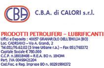 C.B.A. DI CALORI SRL